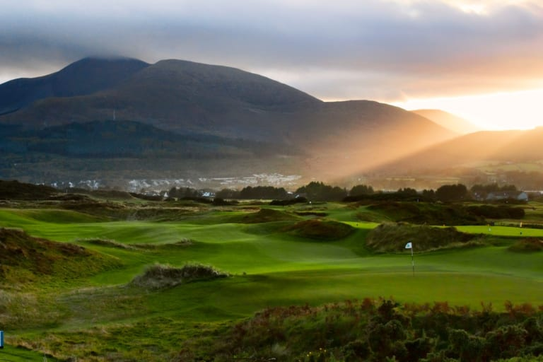 Royal County Down Number One Golf Course in the world