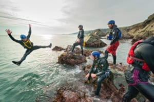 Activities and Sports_Coasteering Wales