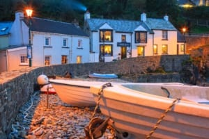 Wales boutique accommodation Swan Inn